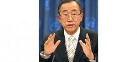 كي مون يدين الهجوم على القوة الدولية في الجولان