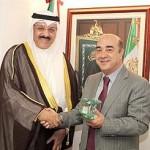 وزير العدل المكسيكي يثمن تكريم الأمير كقائد انساني