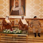 وزير الداخلية يستقبل نظيره البحريني