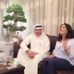 الهندي يزور قيثارة الخليج نوال الكويتية